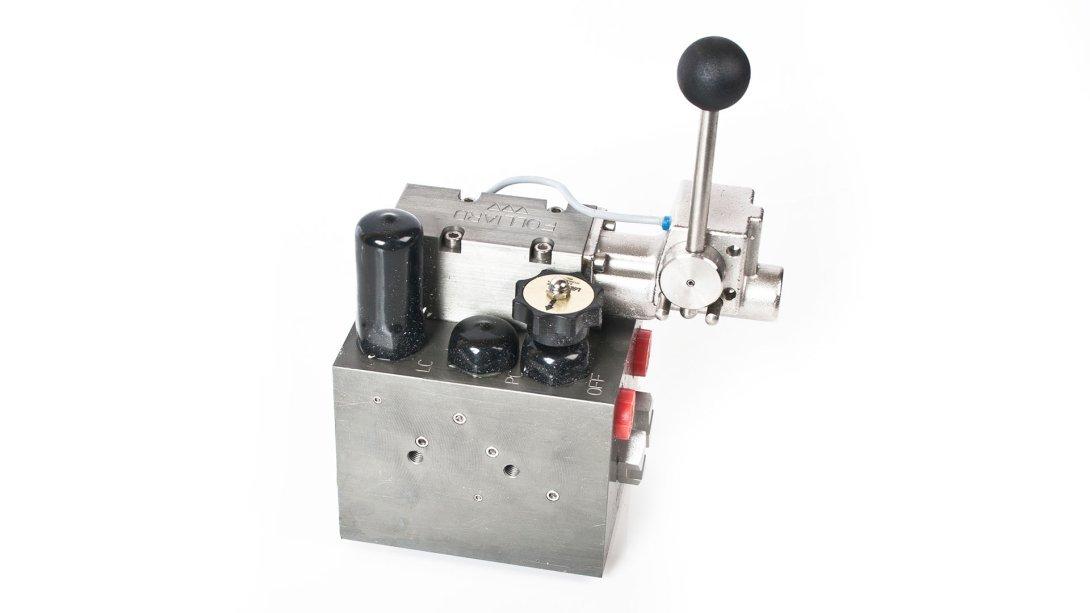 Hydraulic Manifold Block for all APV / Jackstone Plate Freezers