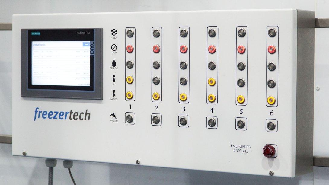 Plate Freezer Controller