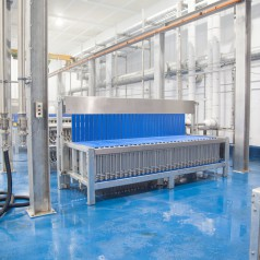Vertical Plate Freezers in Factory